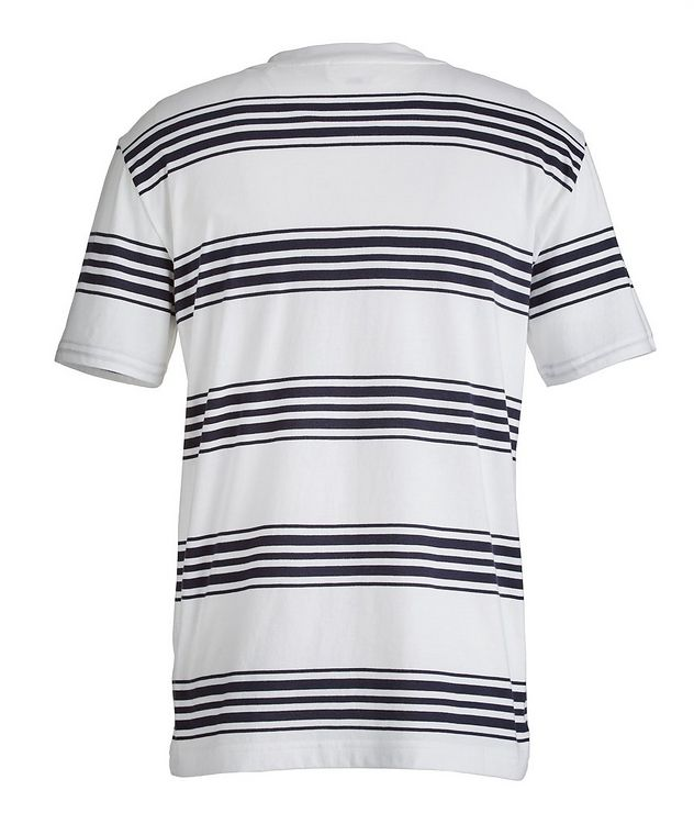 Slim-Fit Striped Pima Cotton T-Shirt picture 2