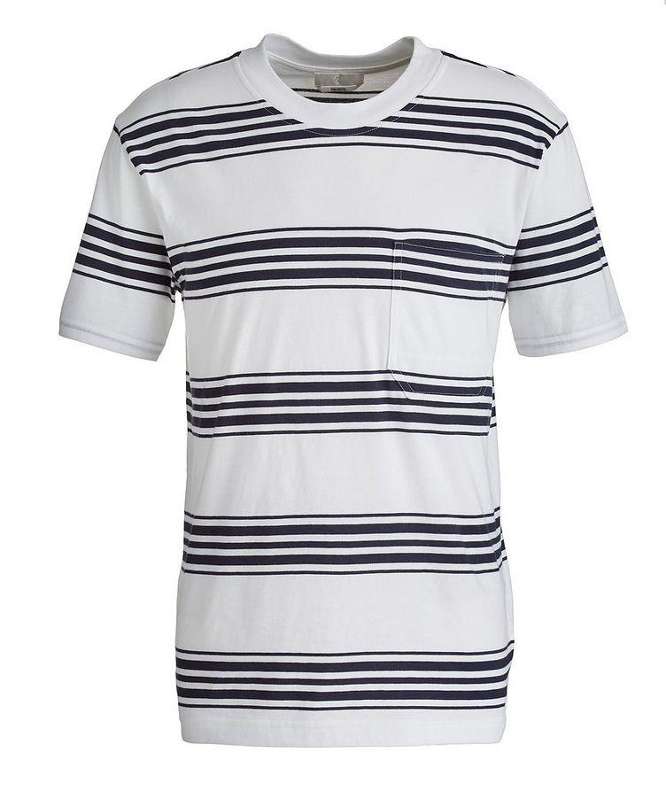Slim-Fit Striped Pima Cotton T-Shirt image 0