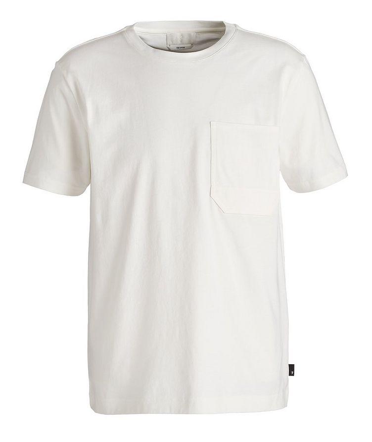Slim Fit Pima Cotton T-Shirt image 0
