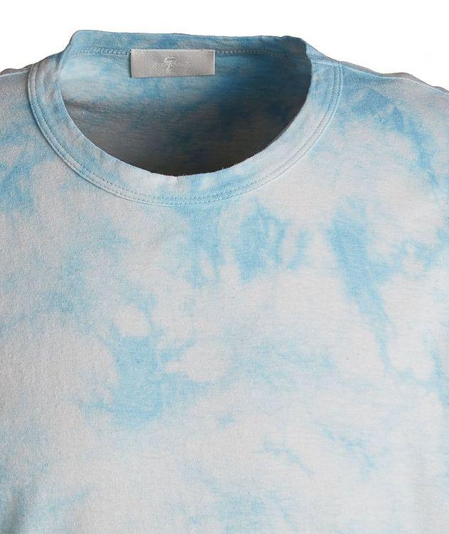 Tie-Dye Hemp-Cotton T-Shirt picture 3
