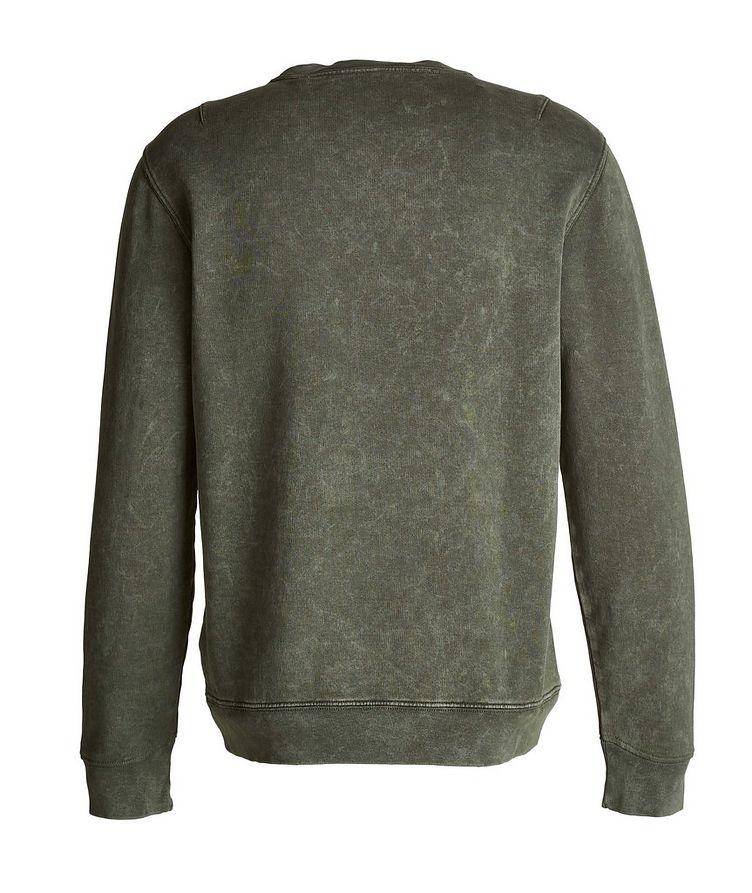 Acid Wash Pima Cotton Sweatshirt image 1
