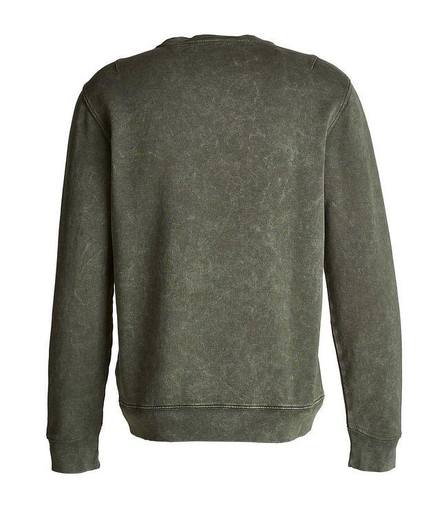 Acid Wash Pima Cotton Sweatshirt picture 2