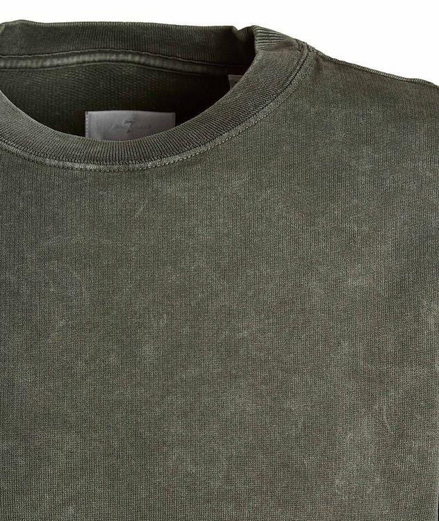 Acid Wash Pima Cotton Sweatshirt picture 3