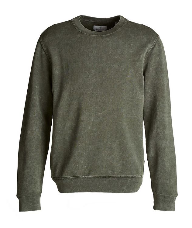Acid Wash Pima Cotton Sweatshirt picture 1