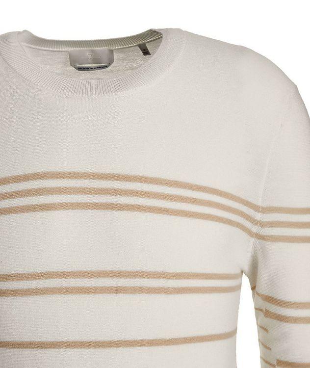 Slim-Fit Striped Merino Wool Sweater picture 2