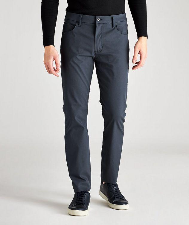 Adrien Slim-Fit Tech Pants picture 1
