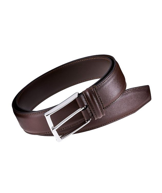 Saffiano Leather Belt picture 1