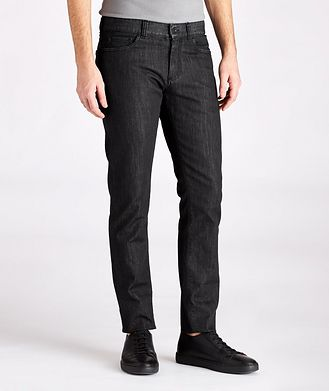 Canali Slim-Fit Stretch Jeans