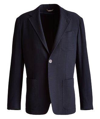 Canali Travel Unstructured Sports Jacket