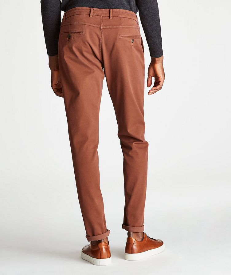 Cotton-Lyocell Stretch Drawstring Pants image 1