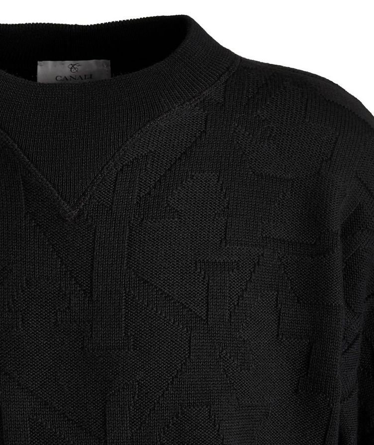 Knitted Wool Sweater image 2