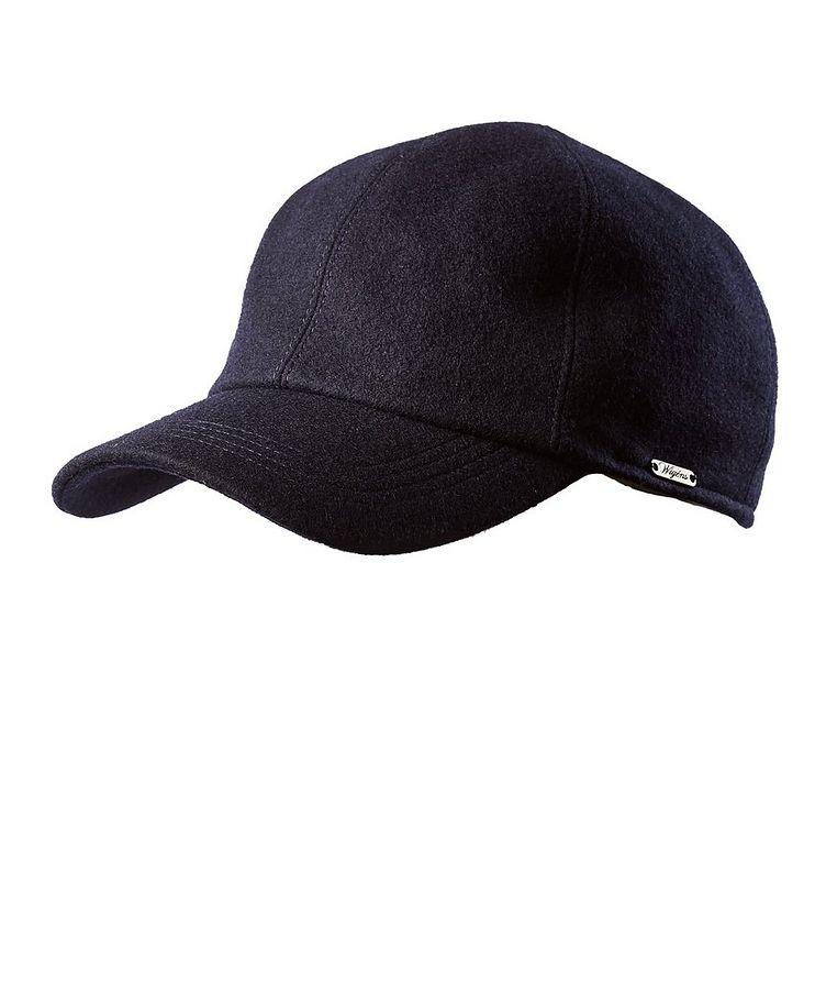 Melton Earflap Baseball Cap image 0