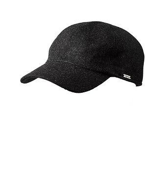 Wigens Melton Earflap Baseball Cap