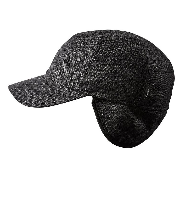 Wool Earflap Baseball Cap image 1