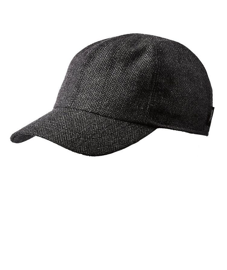 Wool Earflap Baseball Cap image 0