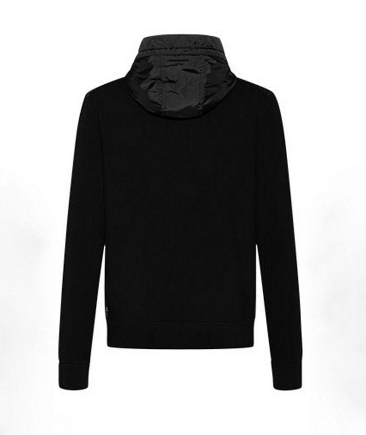 Zip-Up Cotton-Wool Sweater Jacket image 1