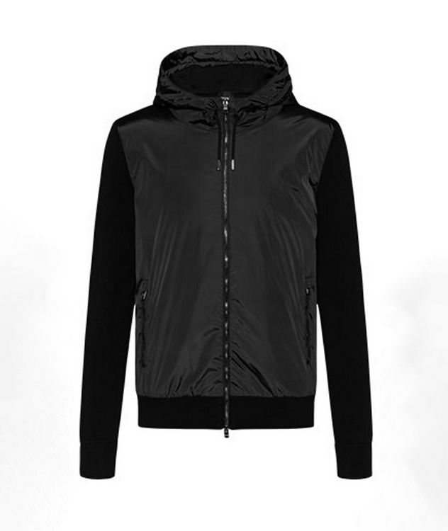 Zip-Up Cotton-Wool Sweater Jacket picture 1