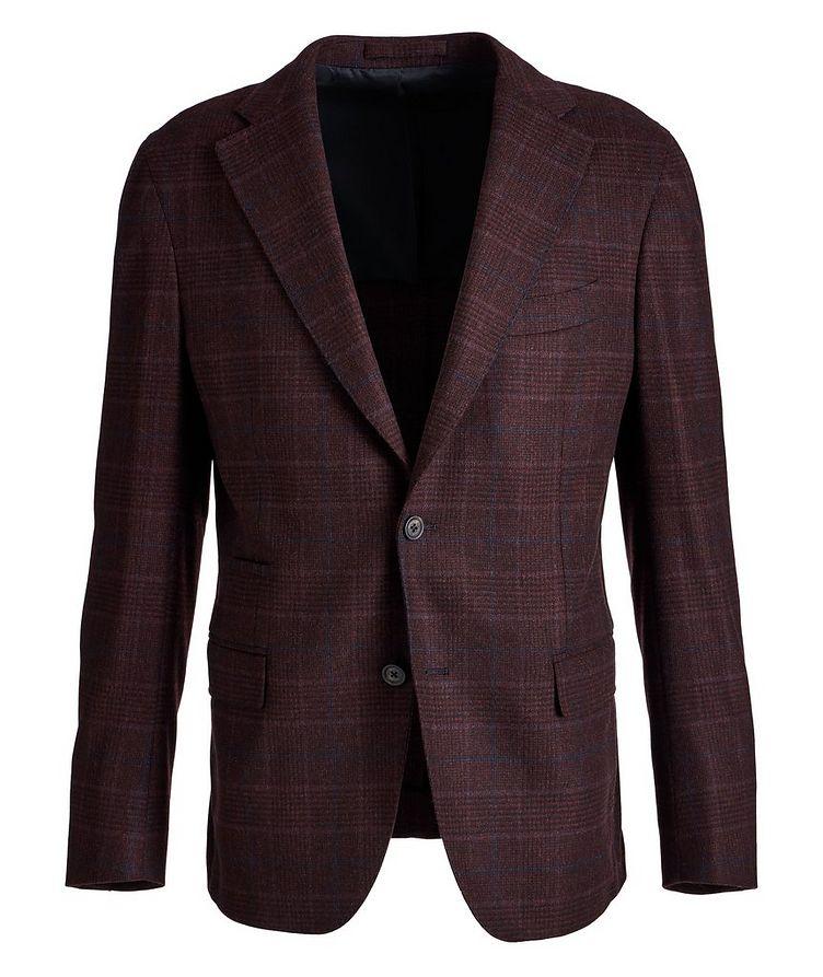 Slim Fit Glen Check Wool-Cashere Sports Jacket image 0