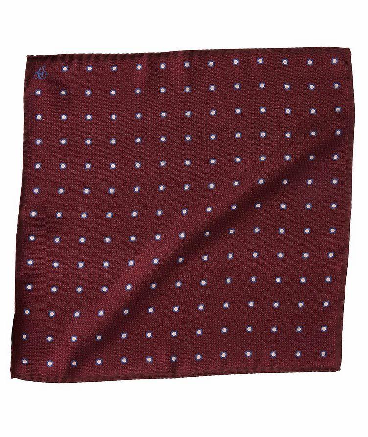 Printed Silk Pocket Square image 0