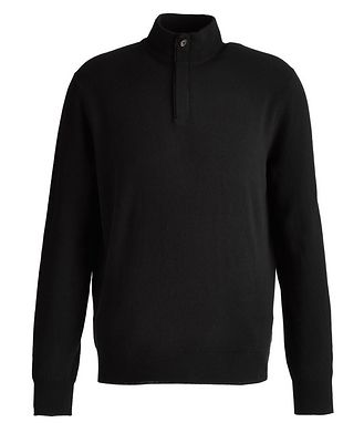 Ermenegildo Zegna Half-Zip Cashmere Sweater