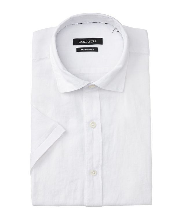 Short Sleeve Linen Sport Shirt picture 1