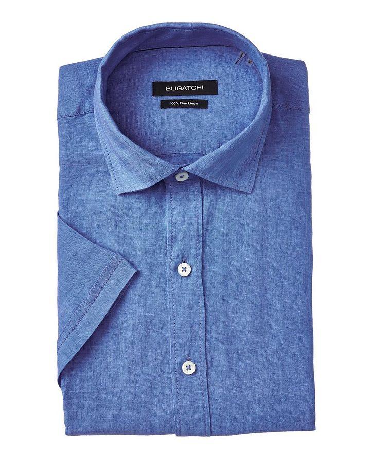 Short Sleeve Linen Sport Shirt image 0