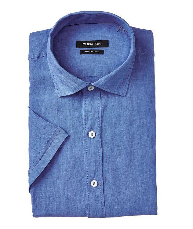Short Sleeve Linen Sport Shirt picture 1