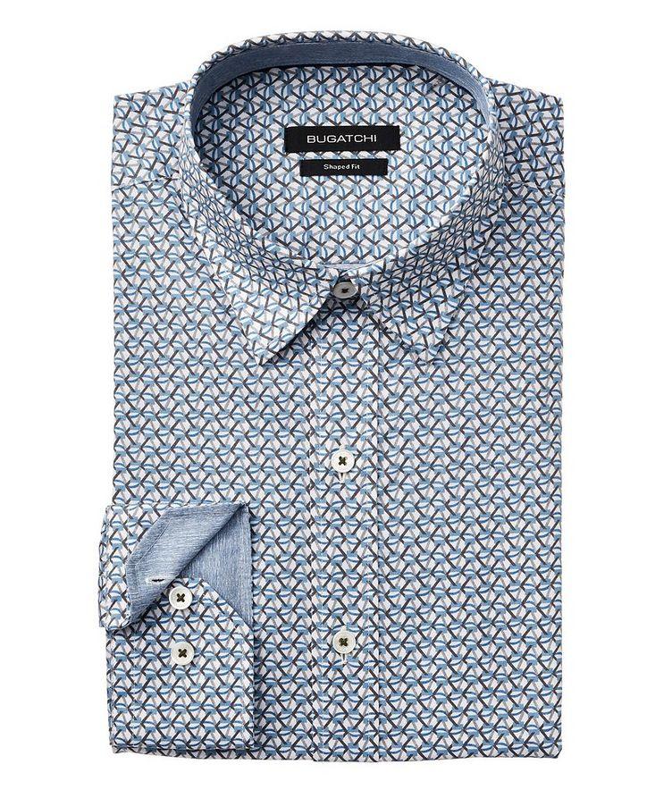 Printed Stretch-Cotton Shirt image 0
