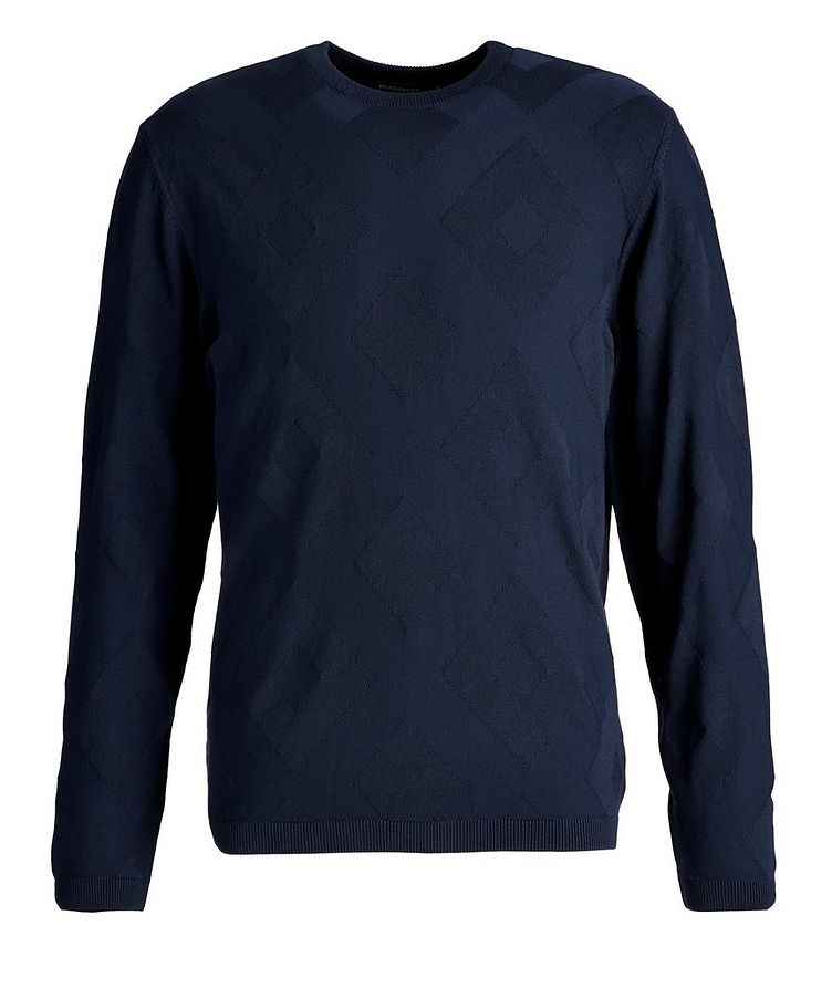 Diamond-Printed Sweater image 0