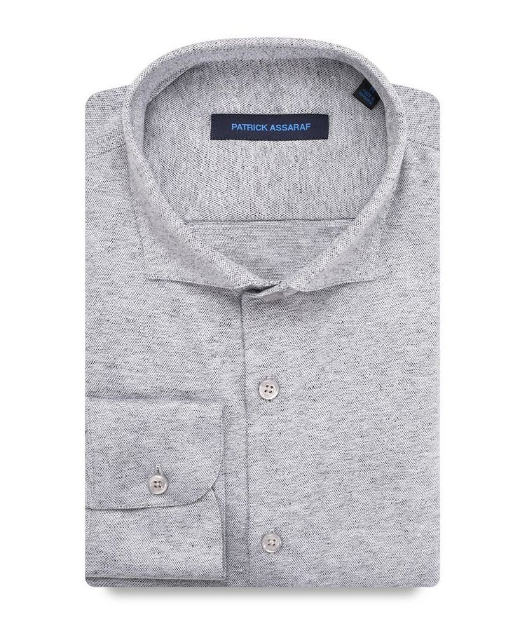 Contemporary-Fit Cotton Shirt image 0
