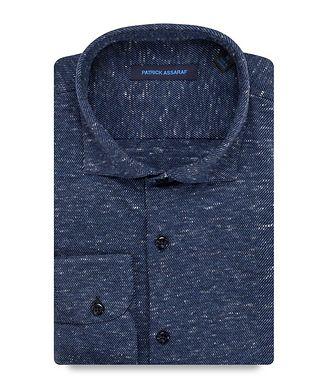 Patrick Assaraf Contemporary-Fit  Cotton Shirt