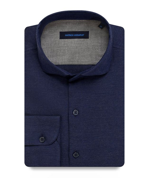 Contemporary-Fit Woven Cotton Shirt picture 1