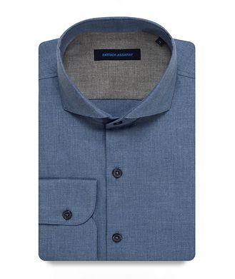 Patrick Assaraf Contemporary-Fit Cotton Shirt