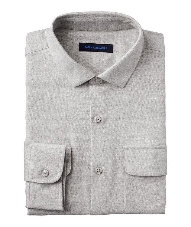 Contemporary-Fit Pima Cotton Shirt picture 1