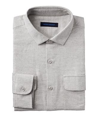 Patrick Assaraf Contemporary-Fit Pima Cotton Shirt