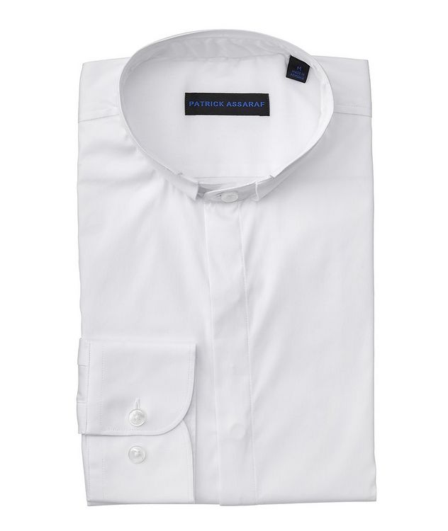 Contemporary-Fit Stretch-Cotton-Blend Shirt picture 1