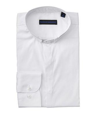 Patrick Assaraf Contemporary-Fit Stretch-Cotton-Blend Shirt