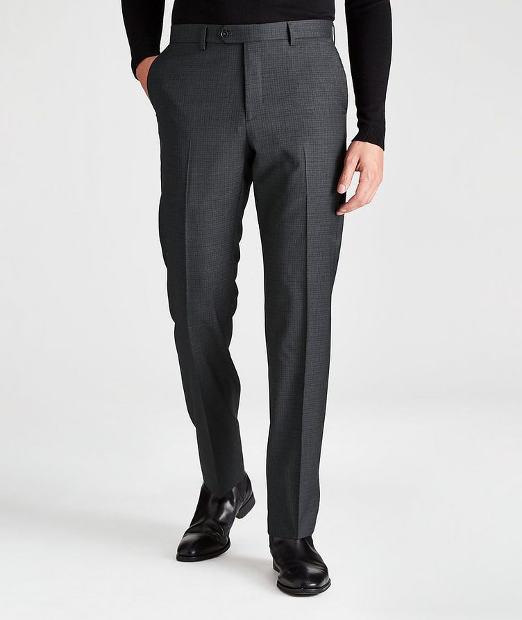 Contemporary-Fit Checkered Dress Pants image 0
