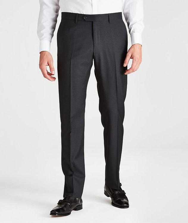 Contemporary-Fit Checkered Dress Pants picture 1