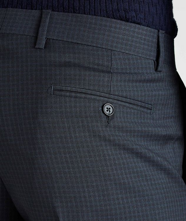 Contemporary-Fit Checkered Dress Pants picture 3