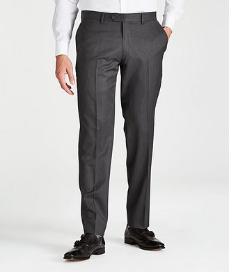 Harry Rosen Pantalon habillé en laine de coupe contemporaine