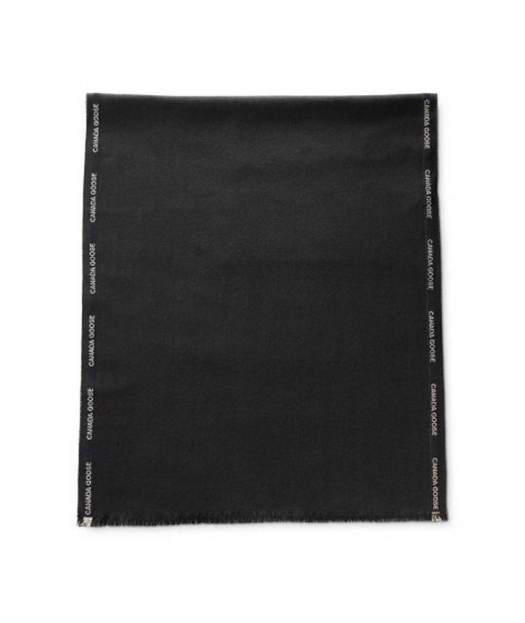 Herringbone Merino Wool Scarf image 0