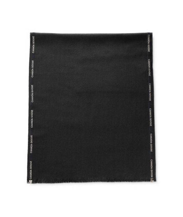 Herringbone Merino Wool Scarf picture 1