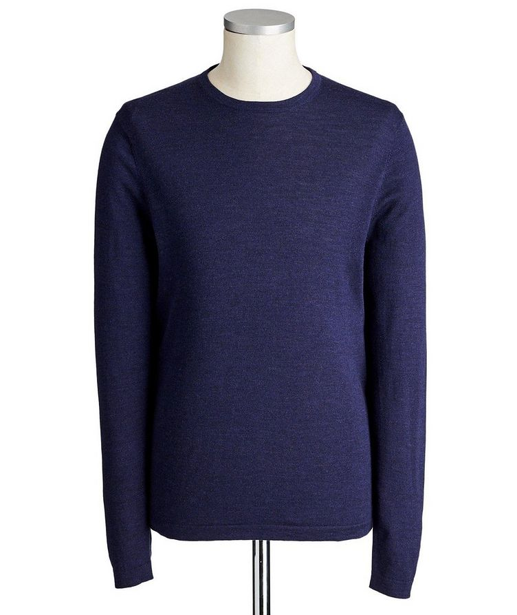 Long-Sleeve Extrafine Merino Sweater image 0