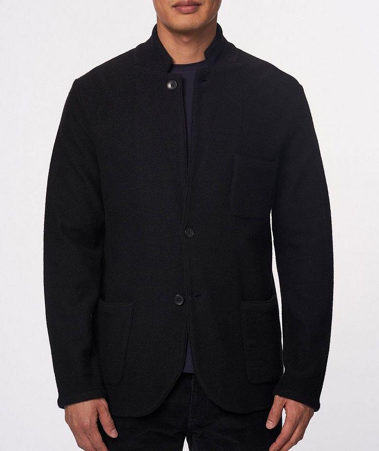 Extrafine Merino Wool Cardigan Blazer image 1