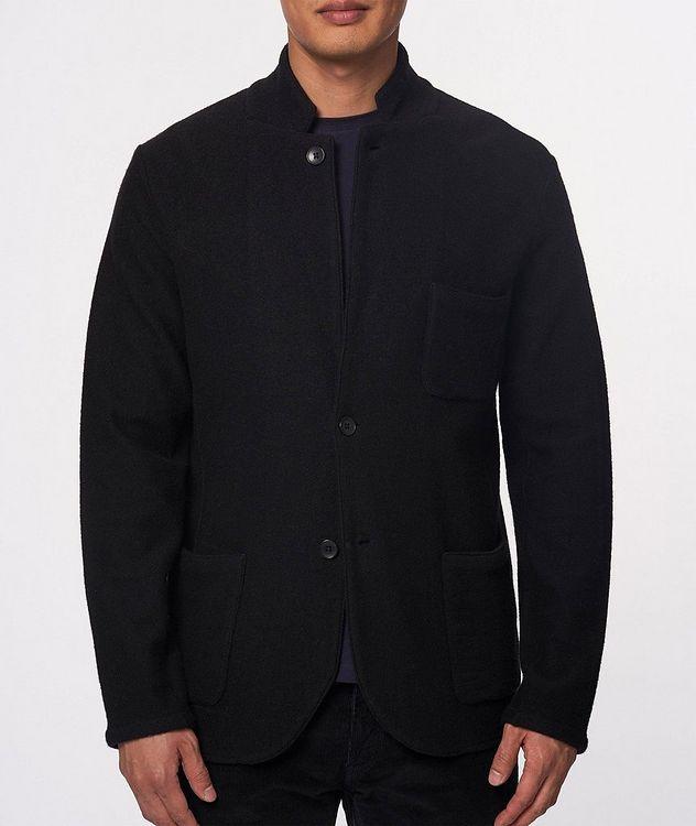 Extrafine Merino Wool Cardigan Blazer picture 2