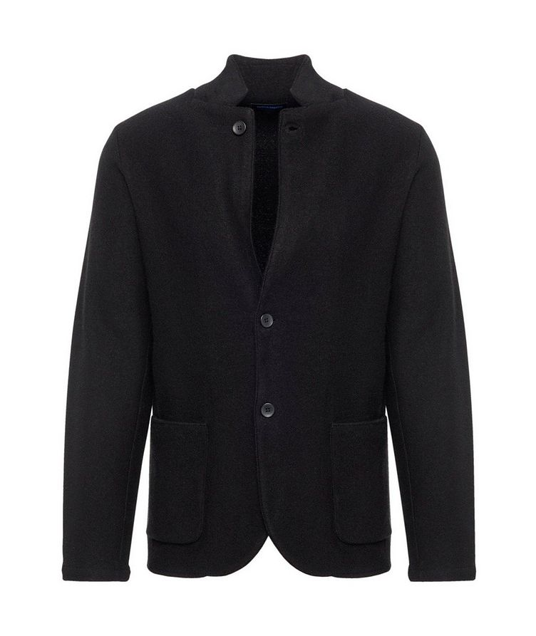 Extrafine Merino Wool Cardigan Blazer image 0