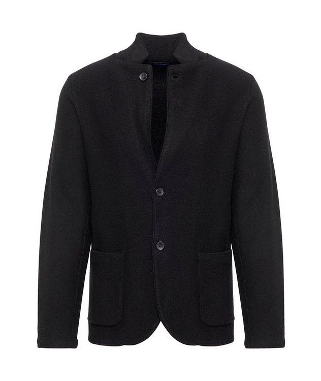 Extrafine Merino Wool Cardigan Blazer picture 1