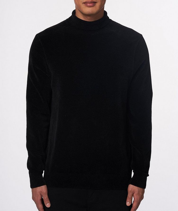 Textured Chenille Turtleneck image 1