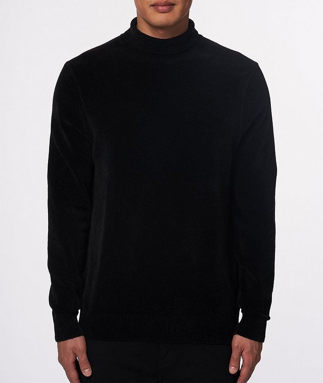Textured Chenille Turtleneck picture 2